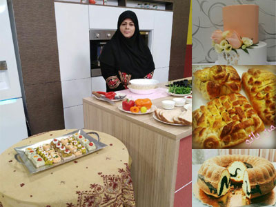 آموزشگاه آشپزی و شیرینی پزی سمن بانو
