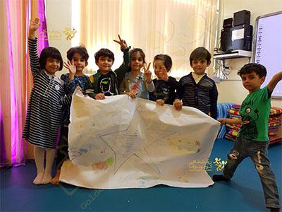 خانه کودک رویش طلایی کوچولوها